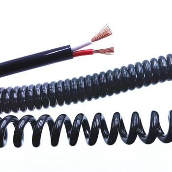 Spring spiral cable 2 cores 3 4 5 6 8 9 10 12 14 0.2mm 0.3mm 0.5mm 1.0mm 2.0mm can stretch the wire shrink
