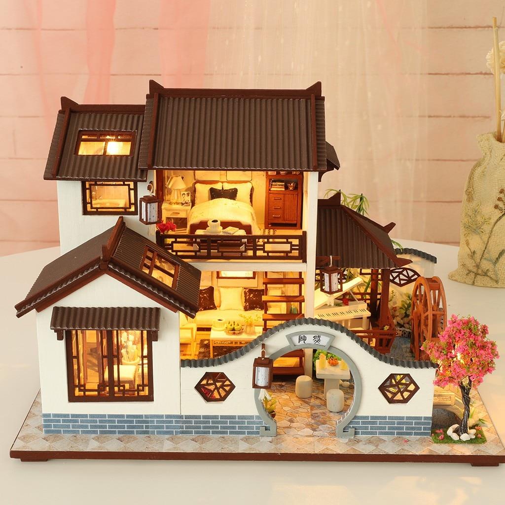 H872e280f041c430f84fb9ec0b8d8bd9a3 - Robotime - DIY Models, DIY Miniature Houses, 3d Wooden Puzzle