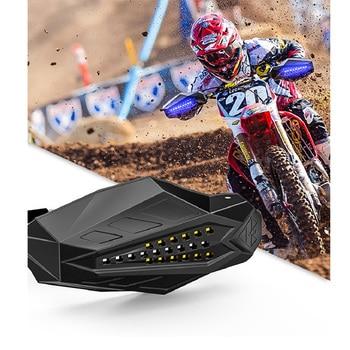 LED Motorcycle handguard Windshield Motocross Hand Guards For yamaha r2003 honda varadero 125 yamaha r6 2018 ktm 790 bmw gs 650