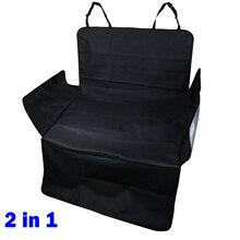 Coche SUV escotilla cubierta trasera para asiento trasero perro bota de PVC alfombra de piso de carga de maletero bandeja parachoques bandeja Protector impermeable organizador