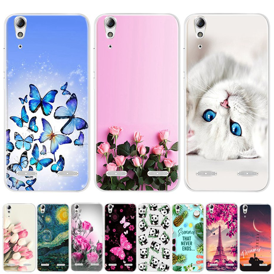 Soft Silicon Phone Case for Lenovo A6010 Plus A6000 Case for Lenovo Lemon K3 K30-T Cover K3 A 6000 <font><b>6010</b></font> Case for Lenovo a6010 image