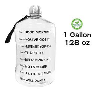 Image 5 - QuiFit 3.78L 2.2L 1.3L גלון מים בקבוק גדול קיבולת חדר כושר כושר תיירות BPA משלוח ספורט פכים סיור בקבוקים חיצוני קומקום
