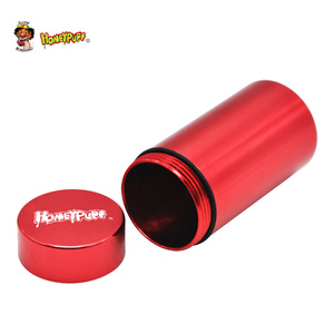 Image 5 - Honeypuff気密臭い防水アルミスタッシュ瓶タバコボックス金属ハーブ保存容器ピルボックス