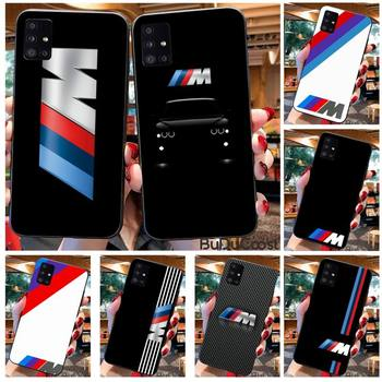 Diseny Top car BMW Phone Case For Samsung A10 A20 A30 A40 A50 A70 A71 A51 A6 A8 2018 image