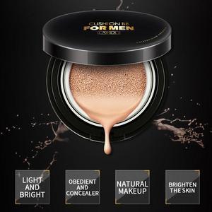 Men Air Cushion BB CC Cream Concealer Sunscreen Moisturizing Foundation Whitening Makeup For Face Beauty Make up