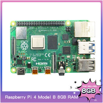 Raspberry Pi 4 Model B RAM 2/4/8G 4 Core 1.5Ghz 4K Micro HDMI Pi4B 3 Speed Than Raspberr Pi 3B+