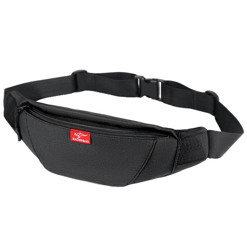 Luxury Brand Waist Bag Men Oxford Fanny Pack Chest Bag Male Casual Sport Belt Bag Sling Crossbody Bum Bag Belly Women Waist Pack