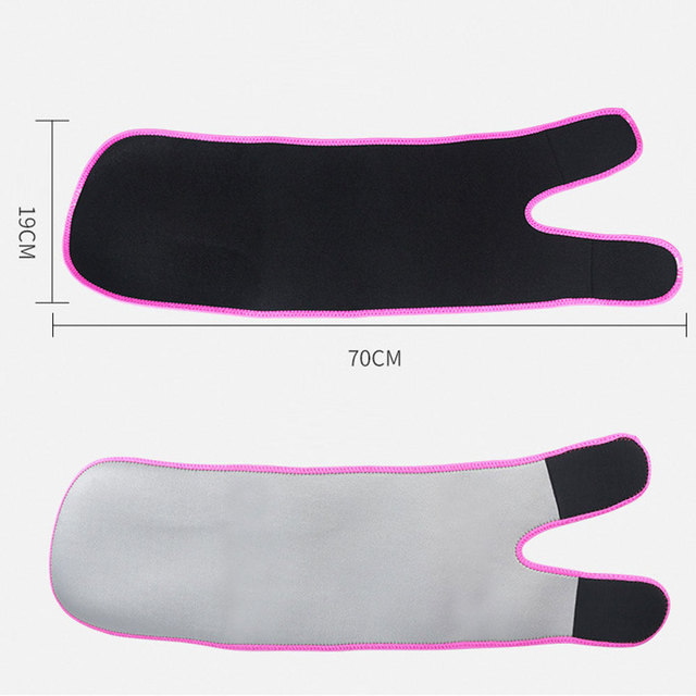 1Pcs Leg Shaper Sweat Thigh Trimmers Calories off Warmer Slender Slimming Legs Fat Thermo Compress Belt for Thigh Trimmers 1