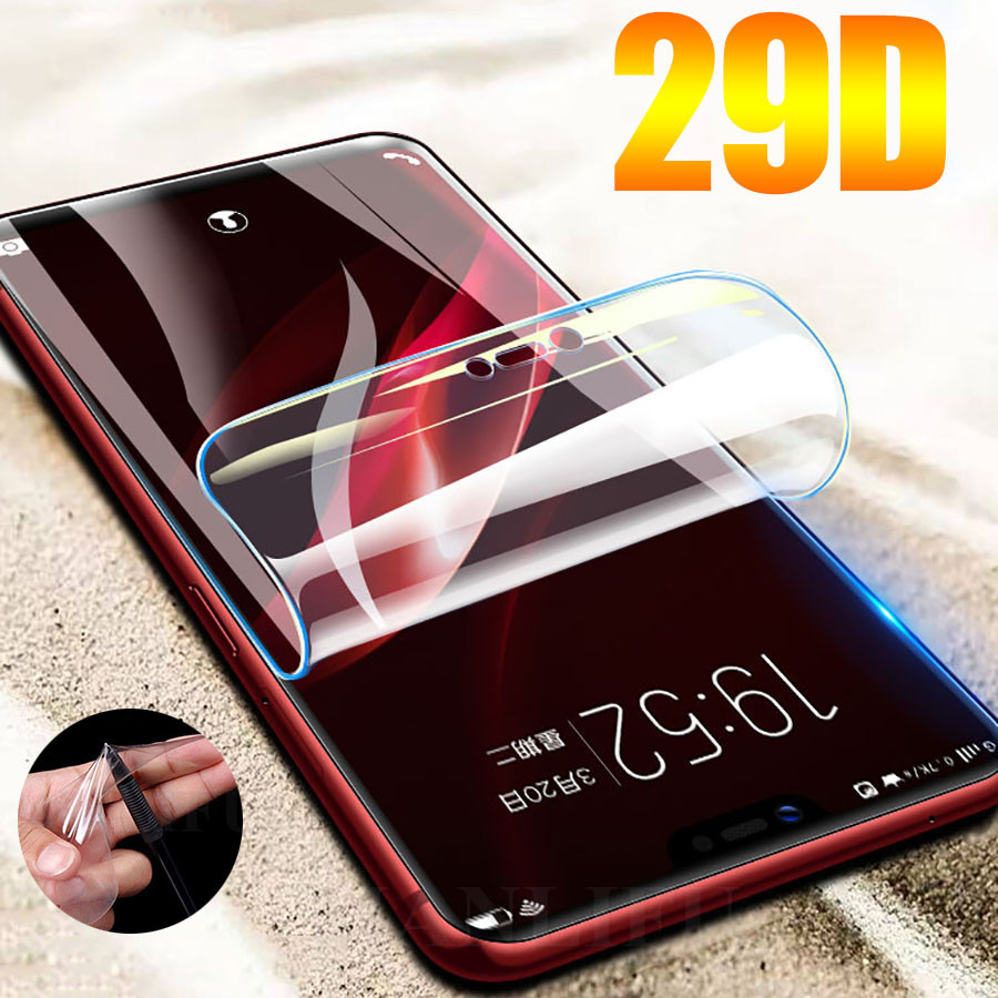 29D Screen Protector Hydrogel Film For ZTE Nubia Z17 M2 Lite Z17 Z11 Minis Protective Film For ZTE Axon 10 Pro Film Not Glass