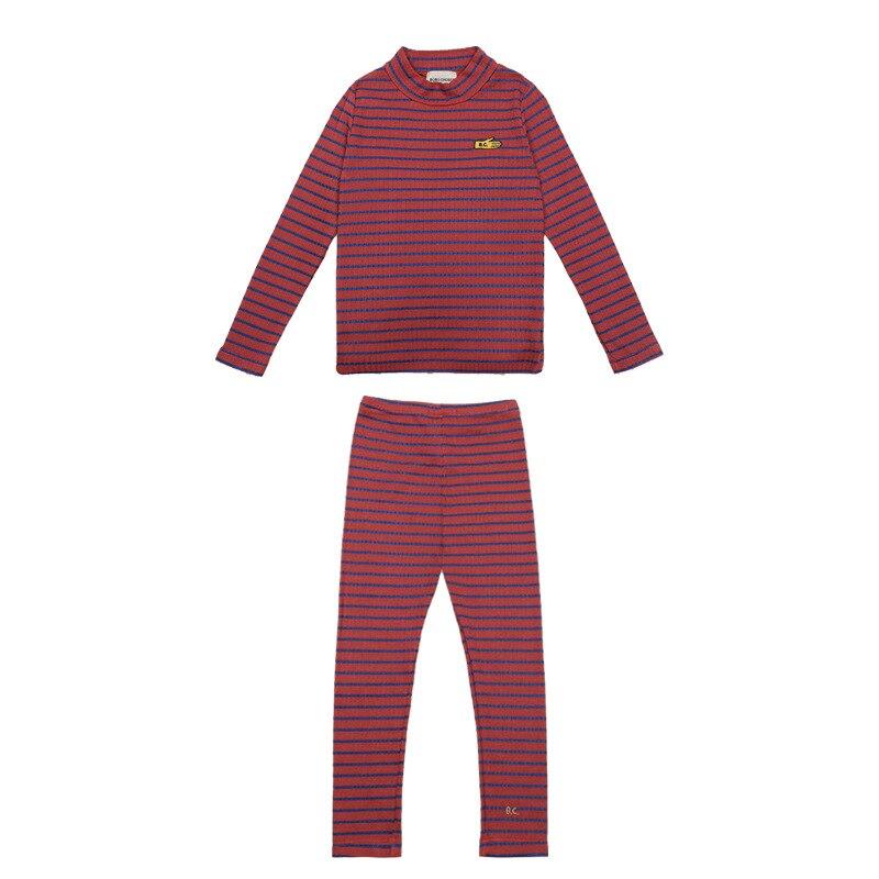 2020 Autumn Winter Girls Clothing Sets Pajama Sets Kids Clothes Vestidos  Long Sleeved T shirts+ Leggings Christmas Clothing 6