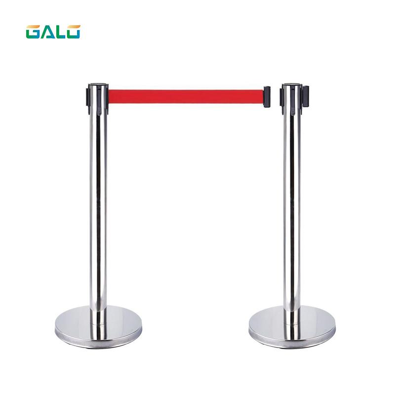Aceally Retractable Belt Queue Barrier Post System Stanchions Sign For Sale