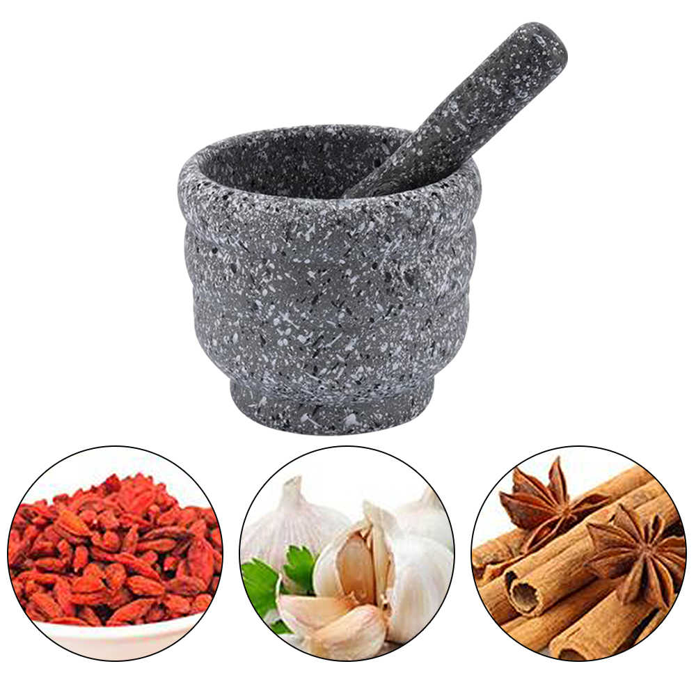 Mortar Pestle Spice Crusher Resin Bowl Tough Foods Pepper Gingers Kitchen Tool Herbs Garlic Grinder Spices Teas Durable Tool 1pc Mills Aliexpress
