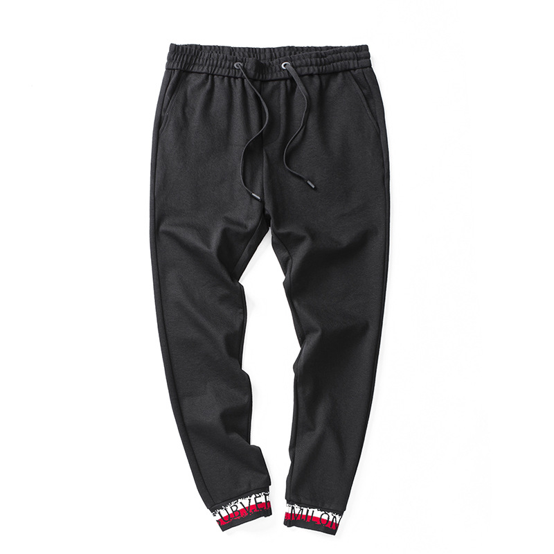 Fall And Winter 2018 New Brand Casual Pants Men's Fashion Korean Harem Pants Slim Comfortable Men Colour Pencil Pants Trousers
