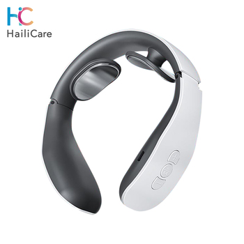 Elektryczny inteligentny masażer szyi ramię masażer ciała niska częstotliwość terapia magnetyczna Pulse ulga w bólu do opieki nad zdrowiem tanie i dobre opinie Hailicare CN (pochodzenie) 101320 ABS i TPR NECK Masaż i relaks