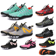 Outdoor Multifunctional Sports Shoes Men's Casual Breathable Hiking Shoes Female Couple Ffashion Lightweight Nnon-Slip Sneakers