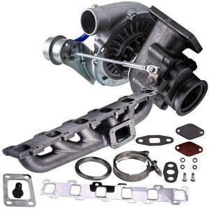 Image 2 - Conjunto múltiple Turbo para Nissan Patrol Safari GU GQ 4.2L TD TD42 TB42 T04E T3 T4 .63 A/R 44 Trim turbocompresor 400 + HP Stage III