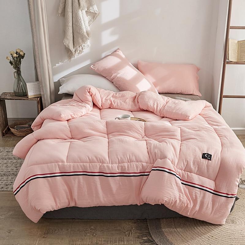 Four Seasons Quilt Thick Suitable For Children Blanket Silk Blanket Comforters Luxury Down Duvet New Design Comforter