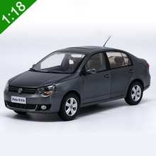 1:18 High Meticulous VW POLOSedan Alloy Model Car Static Metal Model Vehicles With Original Box For Collectibles Gift