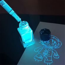 Stationery Fluorescent-Ink Invisible-Ink Uv-Light Fountain-Glass Non-Carbon Gift Magic