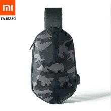 Xiaomi Original BEABORN polyèdre sac à dos en simili cuir polyuréthane sac étanche Camouflage loisirs sport poitrine Pack sacs pour hommes femmes voyage