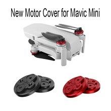 Novo 4 pçs tampa da capa do motor para dji mavic mini drone protetor de motor de alumínio à prova de poeira impermeável tampas do motor acessórios