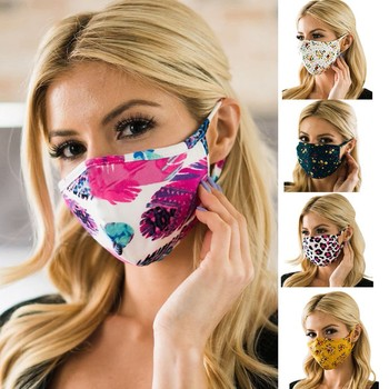 Adult Fashion Mask Washable Anti Dust Windproof Facemask Women Outdoor Sport Cycling Mask Anti Pollution Facemasks Reusable