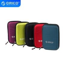ORICO 2,5 zoll Tragbare Externe Festplatte Schutz Tasche Dual Puffer Schicht HDD Protector Fall PHD