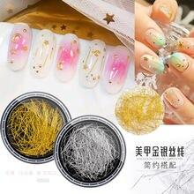 Разнообразные популярные ювелирные изделия для ногтей Золотая