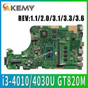 X555LD Motherboard i3 CPU For ASUS X555L X555LP A555L K555L laptop Motherboard X555L X555LJ X555LB X555LI X555LN Mainboard