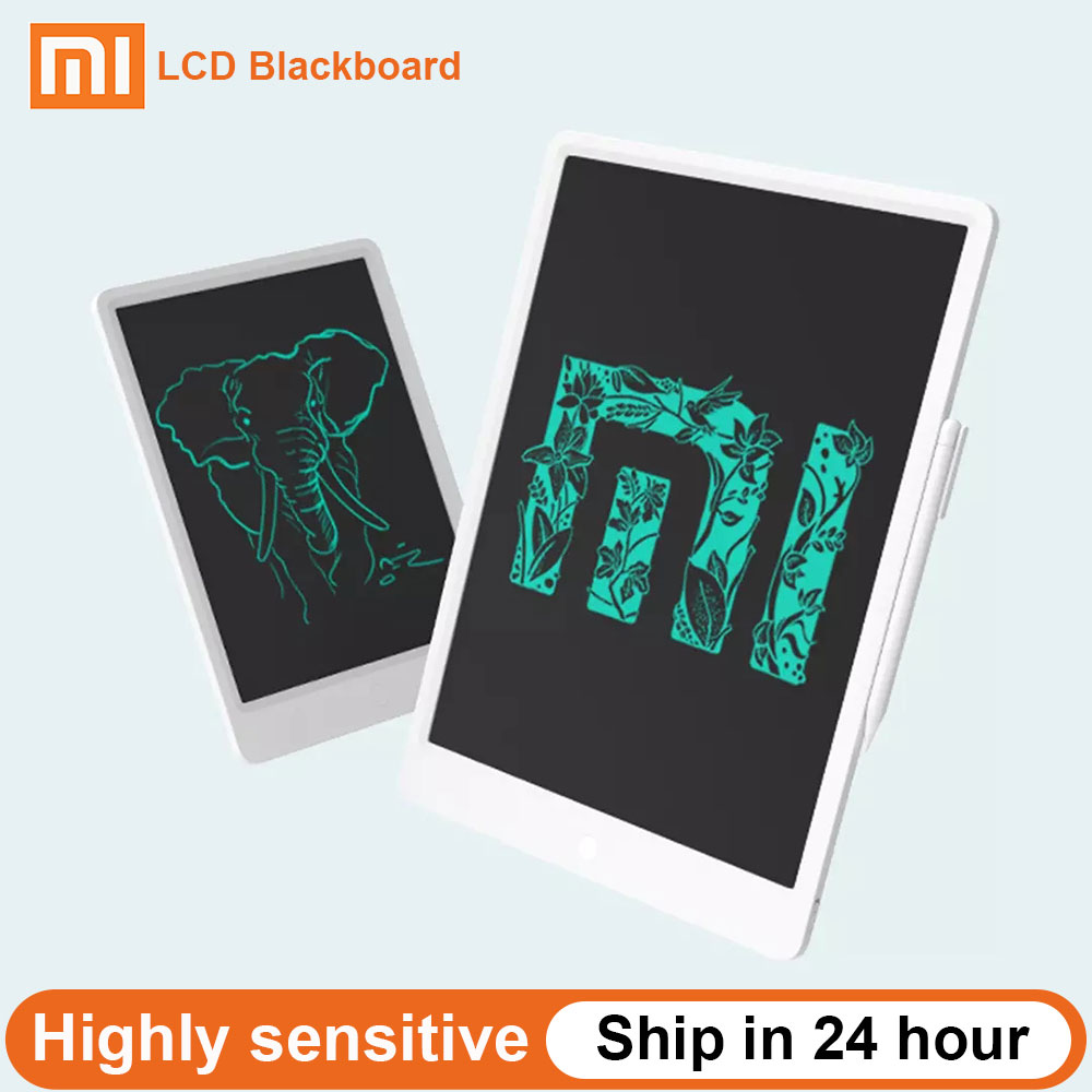Xiaomi Mijia LCD Blackboard Writing Tablet With Pen Digital Drawing Electronic Handwriting Pad Message Graphics Board