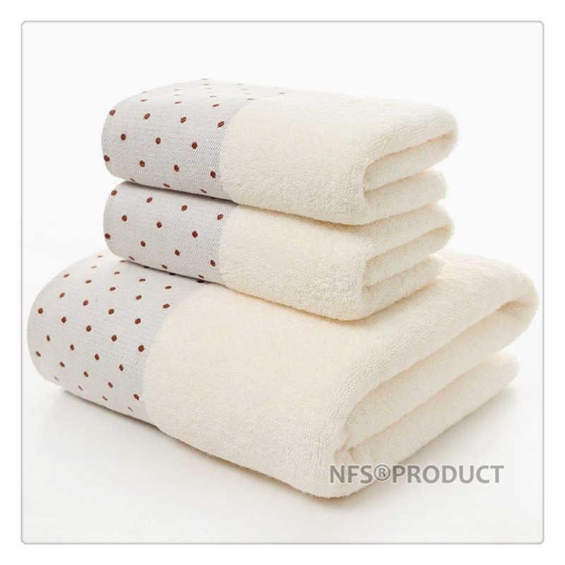 Cotton-Bath-Towel-Set-for-Bathroom-2-Hand-Face-Towels-1-Bath-Towel-for-Adult-White (2)