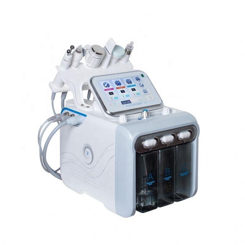Image 3 - 6 in 1 Water Oxygen hydrafacial machine skin care  Deep Cleansing Exfoliating Hydro Dermabrasion Water Oxygen Jet Peel Machine