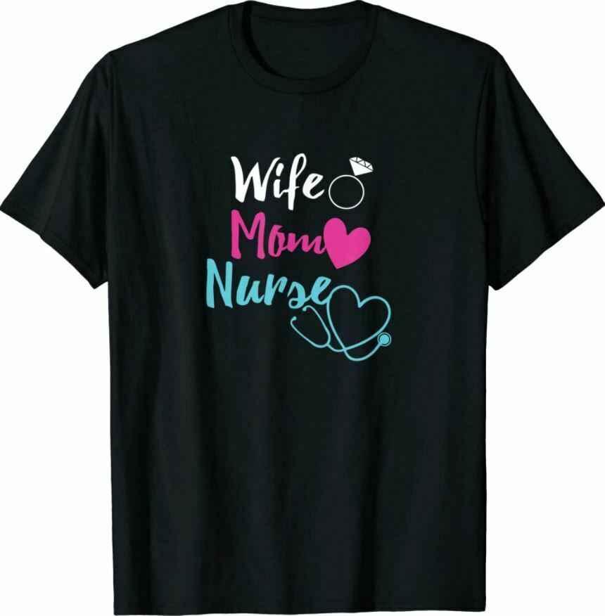 Женская мама медсестра женщина RN.LPN подарок на день матери для медсестер новая футболка