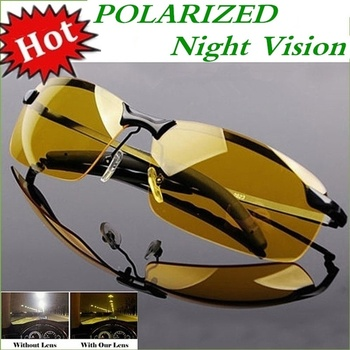 2020 Night Vision Glasses Photochromic Polarized Sunglasses Men Outdoor Sport Sun Day Driver Goggles