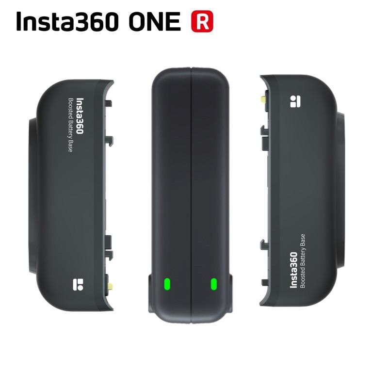 Оригинальный аккумулятор 2380 мАч Insta360 большой емкости + концентратор быстрой зарядки для Insta 360 ONE R все версии аксессуары для камеры