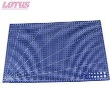 1 pçs pvc retangular esteira de corte grade linha ferramenta placa de corte plástico venda quente proteger a vida útil da lâmina a1 a2 a3 a4 novo