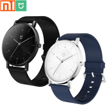Original Xiaomi Mijia Quartz Watch / 30M Waterproof / 316L Stainless Steel Case / Leather Strap / Two Years Life / Men and Women