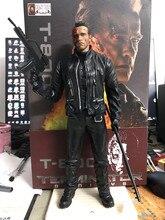 12 นิ้วใหม่ภาพยนตร์ Crazy ของเล่น Terminator 2 วันตัดสิน T 800 Arnold Schwarzenegger พีวีซี Action FIGURE ของเล่นคริสต์มาสของขวัญ