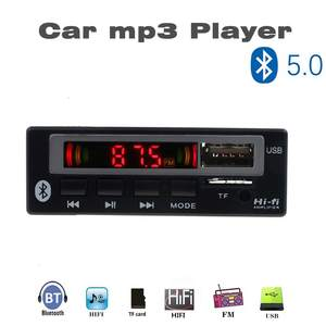 Decoder-Board Audio-Module Color-Screen Wireless Mp3 Wma AUX 5V WAV TF FM USB 12V Auto-Accessories