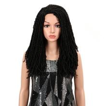 "MAGIC Hair 22""Inch Synthetic Wigs For Black Women Crochet Braids Twist Jumbo Dread Faux Locs Hairstyle Long Afro Brown Hair"