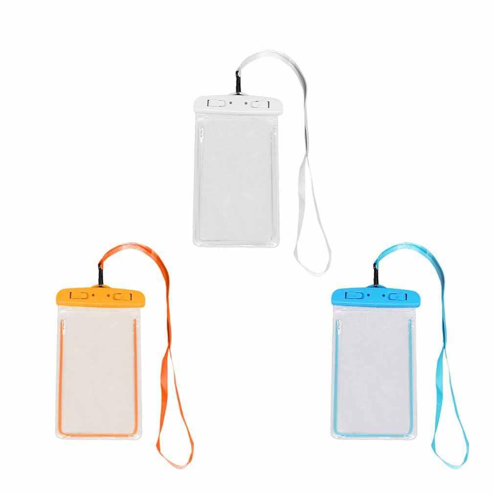 Waterdichte Pvc Zwemmen Zak Waterdichte Mobiele Telefoon Case Cover Dry Pouch Universele Duiken Drifting Riving Trekking Tassen
