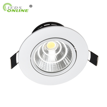 цена на Hot sale 3w 5w 7w 10w cob led downlight dimmable recessed lamp  home led epistar spot led kitchen 110v 220v