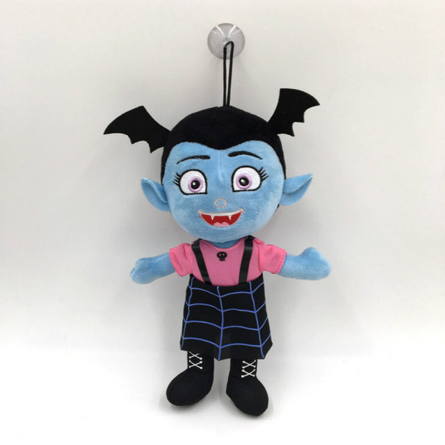 30CM The Vamp Bat Vampirin Plush Girl Dolls Figure Toys Soft  Stuffed Vampirina Doll DSN Kids  Brinquedos Toy for Child  Gift