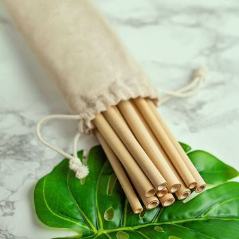 Reusable Bamboo Drinking Straws Reusable straw Strong and Durable Cocktail straws biodegradable straws Eco Friendly Straws BPA f 4