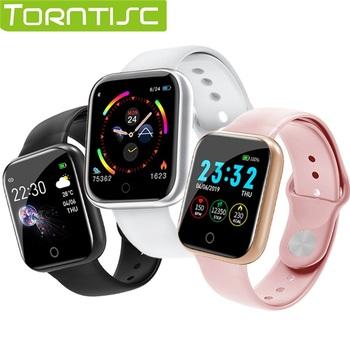 Torntisc Single Touch inteligentny zegarek mężczyźni kobiety tętno ciśnienie krwi tlen PK B57 smartwatch do produktów firmy apple Watch android ios tanie i dobre opinie Brak Na nadgarstku Wszystko kompatybilny 128 MB Passometer Fitness tracker Uśpienia tracker Wiadomość przypomnienie