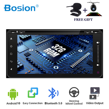Bosion 2 din Android 10.0 Car radio DVD Player For TOYOTA RAV4 2001-2008 COROLLA 2000-2006 GPS Navigation Multimedia HeadUnit image
