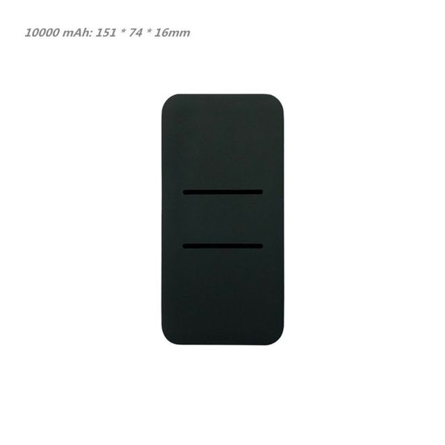 Silicone Protector Case Cover Skin Sleeve Bag for New Xiao Mi 2 10000/20000mAh Dual USB Power Bank Powerbank Accessory 5