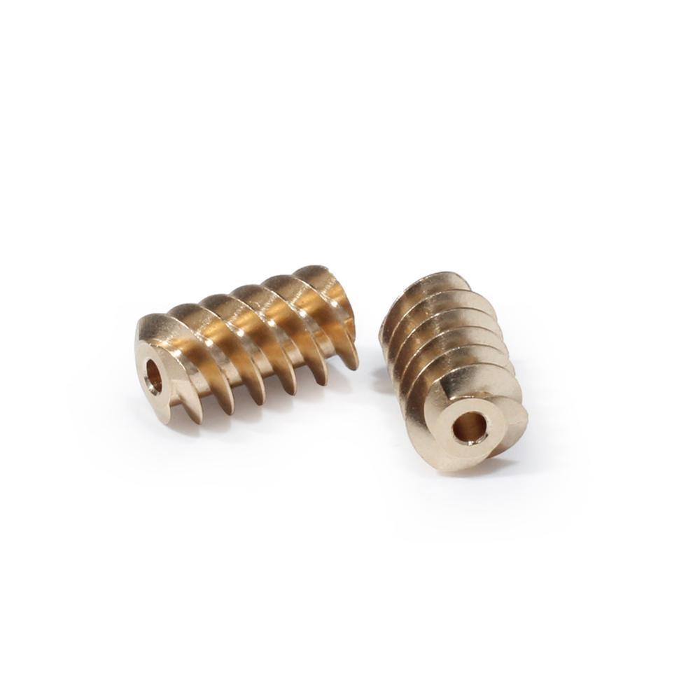 1pc 8.4*15*2.3MM Worm Gear Copper Metal Gear For 385 Motor For AUDI ELV ESL J518 Wheel Lock Motor Brass