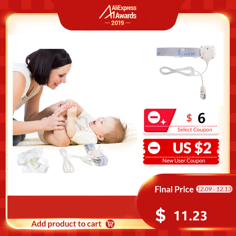 Bed Wetting Sensor Alarm Wet Reminder Convenient Professional Baby Sensor For Baby Kids Potty Training Adults Sleeping Enuresis