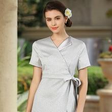 Beautician autumn winter work clothes beauty salon SPA uniform dress